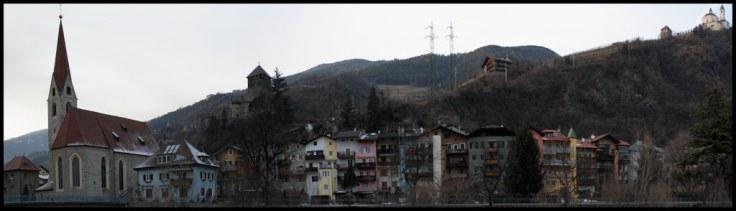 Chiusa Houses Panorama